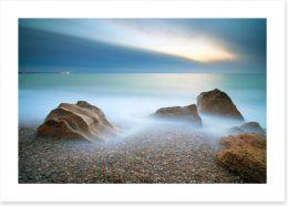 Dusky bay Art Print 81045215
