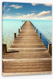 Jetty Stretched Canvas 81069058
