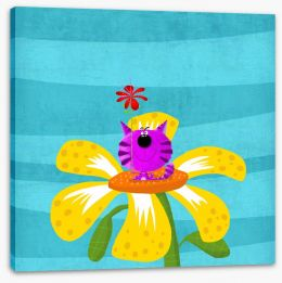 Animal Friends Stretched Canvas 81092602