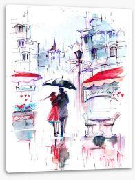 Paris Stretched Canvas 81733338