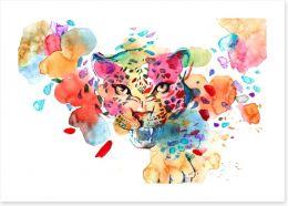 The spots off a leopard Art Print 81733386