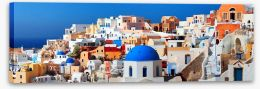 Village Stretched Canvas 82362050
