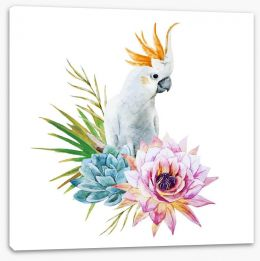 Birds Stretched Canvas 82364803