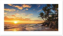 Palm tree paradise Art Print 82879029