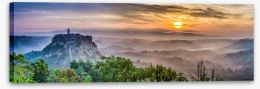 Mountains Stretched Canvas 83612948