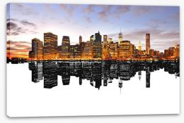 New York Stretched Canvas 84614492
