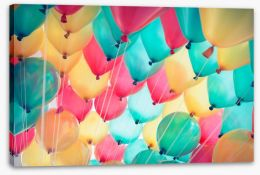 Abstract Stretched Canvas 84667081