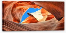 Antelope slot canyon Stretched Canvas 85239334