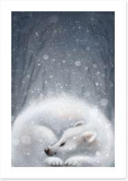 Winter Art Print 85721488