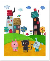 Magical Kingdoms Art Print 86509040