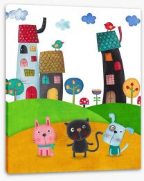 Magical Kingdoms Stretched Canvas 86509040
