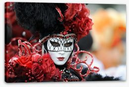 Carnevale Stretched Canvas 8655708