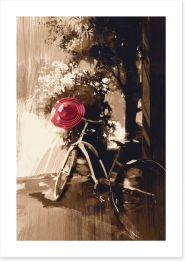 Black and White Art Print 86591109