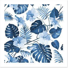 Hawaiian blues Art Print 86630015