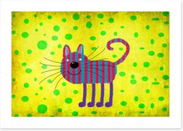 Animal Friends Art Print 86925576