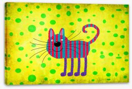 Animal Friends Stretched Canvas 86925576