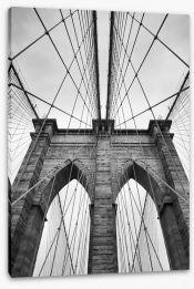 Timeless Brooklyn Bridge Stretched Canvas 87301340