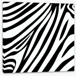 Animal Print Stretched Canvas 87705532