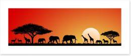 African Art Art Print 88050432