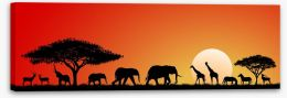 African Art Stretched Canvas 88050432