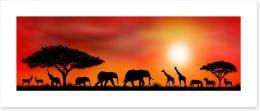 African Art Art Print 88203360