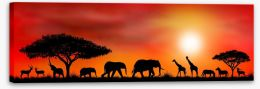 African Art Stretched Canvas 88203360