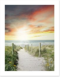 Beaches Art Print 88430666