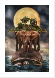 Surrealism Art Print 89135785