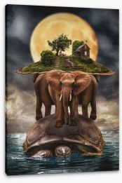 Surrealism Stretched Canvas 89135785