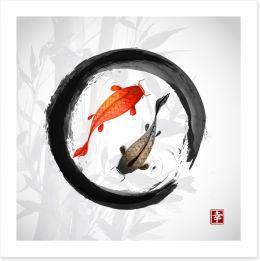 Chinese Art Art Print 90228632