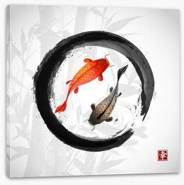 Chinese Art Stretched Canvas 90228632