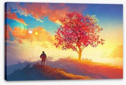 Coming home Stretched Canvas 90769591