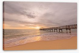 Jetty Stretched Canvas 90772178