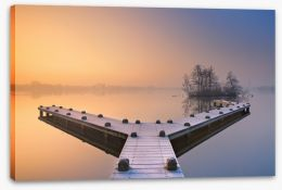 Jetty Stretched Canvas 90814468