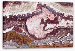 Marble quartz Stretched Canvas 91183637
