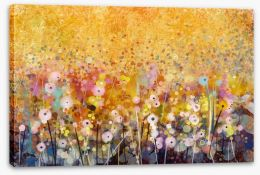 Summer blossom meadow Stretched Canvas 91236819