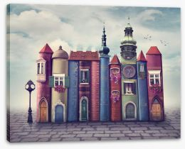 Magical Kingdoms Stretched Canvas 93337931
