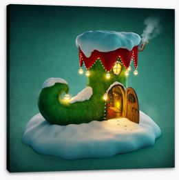Christmas Stretched Canvas 93515472