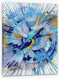 Aquarius Stretched Canvas 93528150