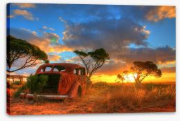Forever on the Nullarbor Plain Stretched Canvas 94079434