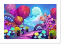 Magical Kingdoms Art Print 94383520