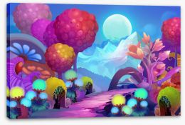 Magical Kingdoms Stretched Canvas 94383520