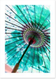 Under the parasol Art Print 94451905