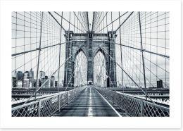 The Brooklyn Bridge Art Print 94990249