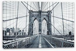 The Brooklyn Bridge Stretched Canvas 94990249