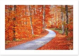 Autumn Art Print 95212865