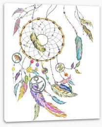 Ocean breeze dreamcatcher Stretched Canvas 96007291