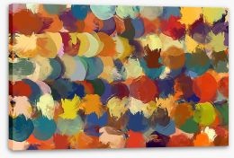 Abstract Stretched Canvas 96098107