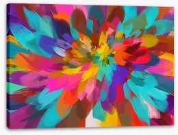 Abstract Stretched Canvas 96098163