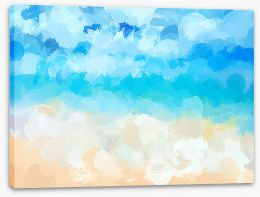 Beaches Stretched Canvas 96121639